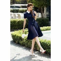 Đầm Xòe Cổ Sơ Mi Xinh Xắn - 2805