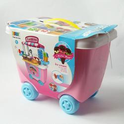 Quầy kem di động Ice Cream Shop