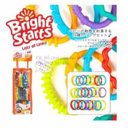 Bộ 24 vòng nhựa Bright Starts đồ chơi giáo dục