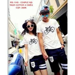 Áo thun Couple nam nữ Hàn Quốc
