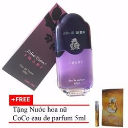 Nước hoa nữ Jolie Dion Imari 60ml + Nước hoa nữ CoCo 5ml