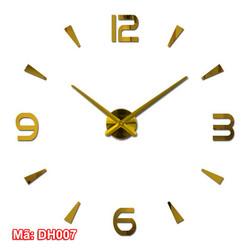 Sản phẩm đồng hồ treo tường trang trí sáng tạo mã DH007