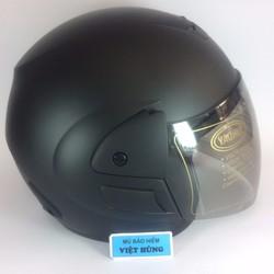 Mũ bảo hiểm Royal M01 đen nhám kính màu