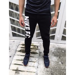 QT08 - QUẦN THỀ THAO NỈ IN CHỮ