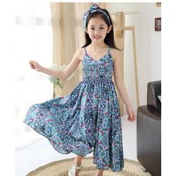 Quần váy yếm bé gái