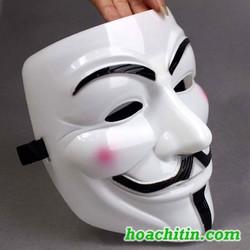 Mặt Nạ Hacker Anonymous Guy Fawker HOA CHÍ TÍN