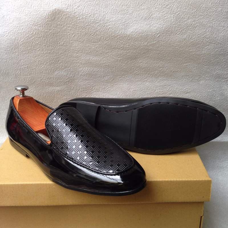 Giày tây nam hàn quốc họa tiết kiểu mới thời trang đẹp giá rẻ 3