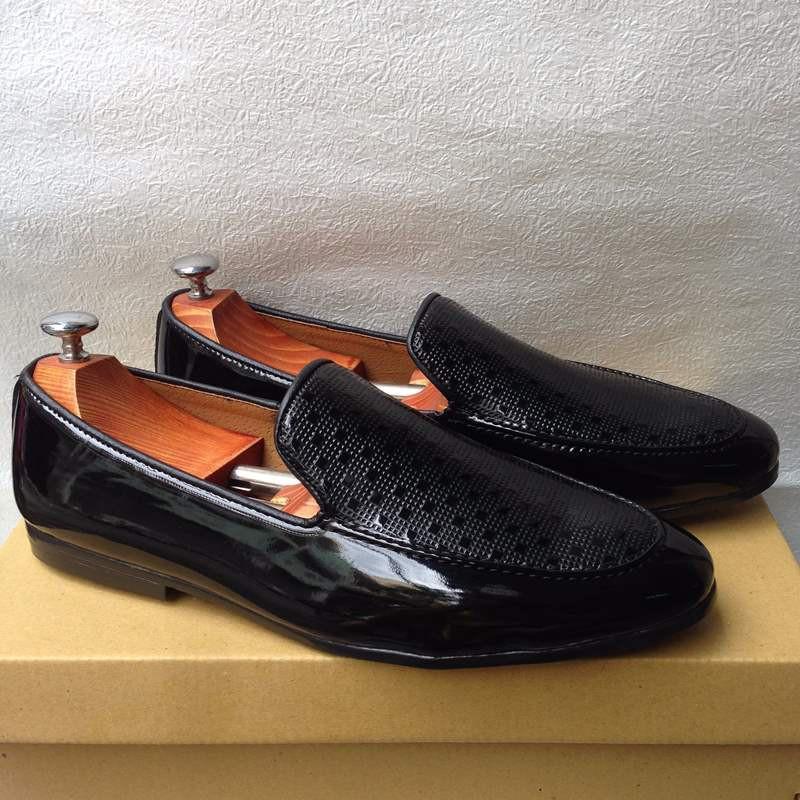 Giày tây nam hàn quốc họa tiết kiểu mới thời trang đẹp giá rẻ 1