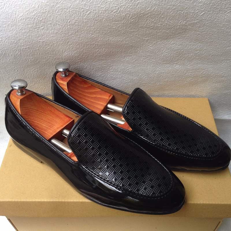 Giày tây nam hàn quốc họa tiết kiểu mới thời trang đẹp giá rẻ 6