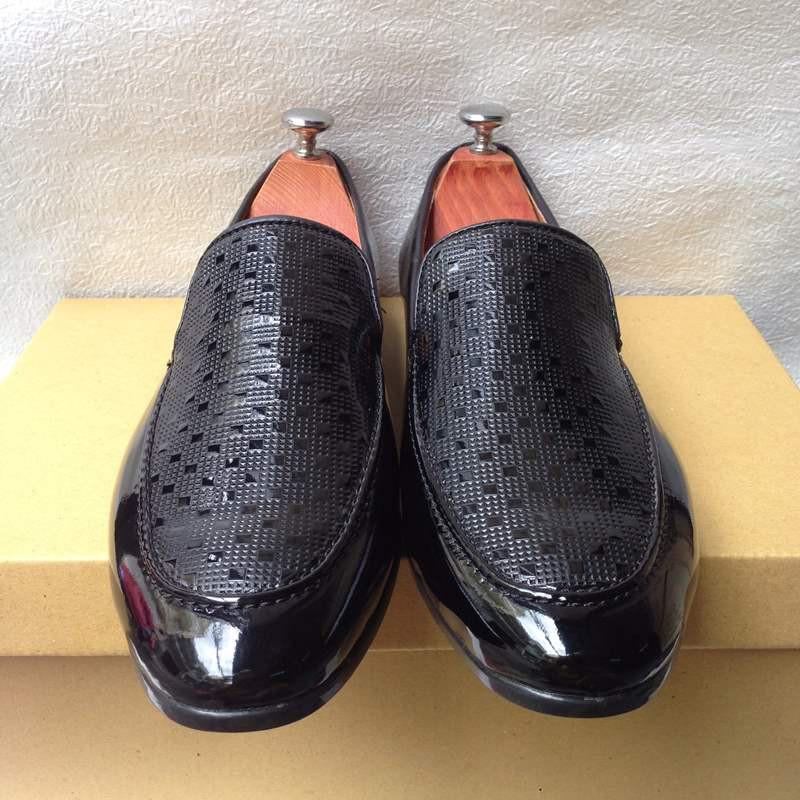 Giày tây nam hàn quốc họa tiết kiểu mới thời trang đẹp giá rẻ 5