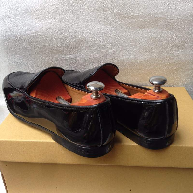 Giày tây nam hàn quốc họa tiết kiểu mới thời trang đẹp giá rẻ 4