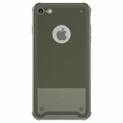 Ốp lưng Silicon cao cấp chống va đập Baseus dành cho Iphone 7 Xanh Rêu