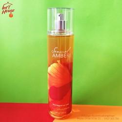 Xịt toàn thân Bath Body Works Sensual Amber 236ml