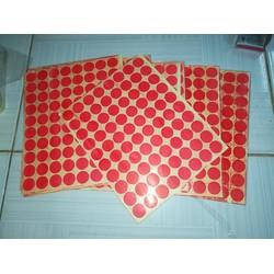 Decal chấm tròn dùng để làm dot card