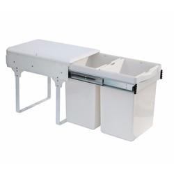 Thùng rác tủ bếp âm ECO B04