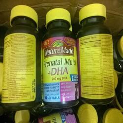 Vitamin tổng hợp cho bà bầu Prenatal + DHA Nature Made 90 viên