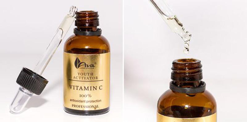 Serum Vitamin C trắng Da, Trị Thâm Nám Ava Youth Activation 3