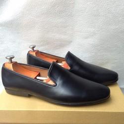 Giày tây nam hàn quốc kiểu tron đen thời trang kiểu mới nhất