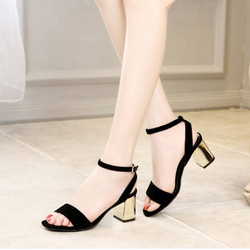 giày hở gót ánh kim cao cấp