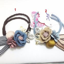 Cột tóc hoa Hàn Quốc