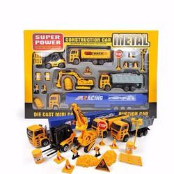 Bộ mô hình xe tải công trường