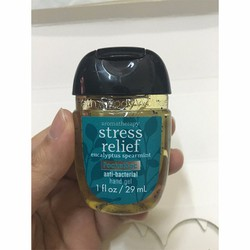 Gel Rửa Tay Khô USA Bath And Bodyworks Stress Relief 29ml