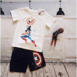 Bộ sưu tập Siêu anh hùng tranh vẽ - Captain America