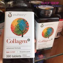 Viên uống chống lão hóa da Collagen Youtheory Type 1-2-3 của Mỹ