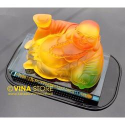 Tượng Phật Di Lặc Phong Thủy Xe Hơi Mang Đến Vượng Khí Tài Lộc May Mắn