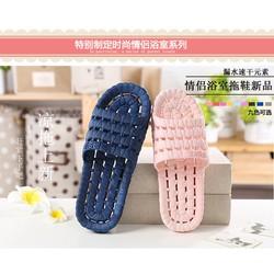 [Sale off] Combo 2 đôi dép mang trong nhà nam nữ tình nhân đáng yêu