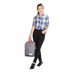 Issac 3 balo thời trang Simplecarry Grey