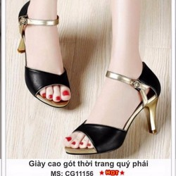 giày cao gót thời trang quý phái
