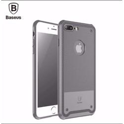 Ốp lưng Silicon cao cấp chống va đập Baseus dành cho Iphone 7 Plus Xám