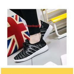 Giày Sneaker thể thao running sport thời trang nữ siêu nhẹ 2017 Đen