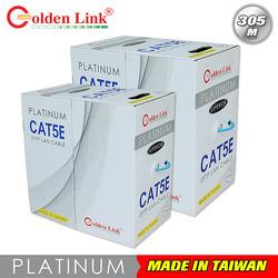 Cáp mạng GOLDENLINK UTP CAT6 PLATINUM màu Vàng