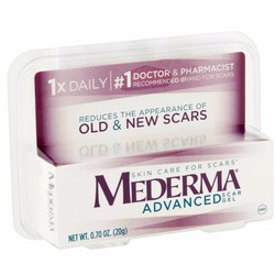 Kem trị sẹo thâm| trị sẹo rỗ Mederma Advance Scar của Mỹ