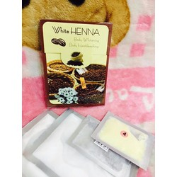 Tắm trắng cà phê Henna Thái