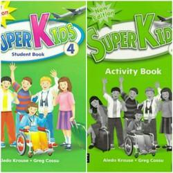 Bộ giáo trình Super Kids 4