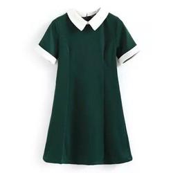 Đầm cổ sen trẻ trung