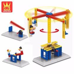 Bộ lego xếp hình Wange chuyển động đu quay 3 in 1