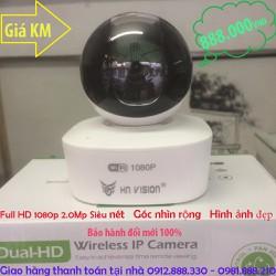 CAMERA KHÔNG DÂY IP 360 ĐỘ HNVISION FULL HD 1080P 2.0MP