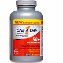 Vitamin tổng hợp One A Day Bayer Women trên 50 tuổi hộp 220 viên Mỹ