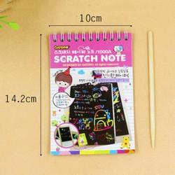 Sổ tay ma thuật Scratch paper Note - A5