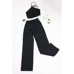 Set trang phục áo yếm kèm quần dài hàng thiết kế cao cấp - DS22