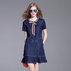 Đầm Jean Đuôi Cá Ngôi Sao Hollywood Cá Tính - TPS1315