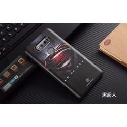 Ốp Lưng Mycolor 3D Siêu Nhân Đen cho LG V20