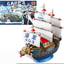 Mô hình thuyền đô đốc garp one piece luffy