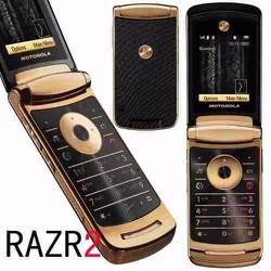 Motorola V8 GOLD sang trọng, chính hãng loại 1, phụ kiện đầy đủ