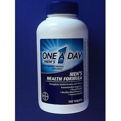 Mẫu mới - Vitamin tổng hợp One A Day Bayer Men dưới 50 tuổi 300 viên