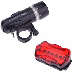 Đèn pin gắn xe đạp và đèn chiếu hậu